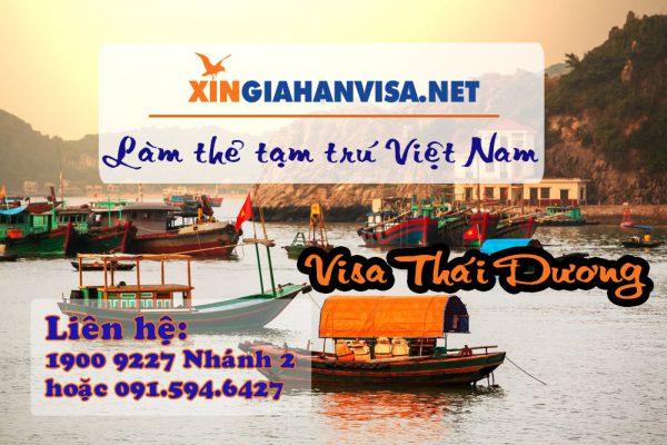 Hướng dẫn cách làm thẻ tạm trú Việt Nam
